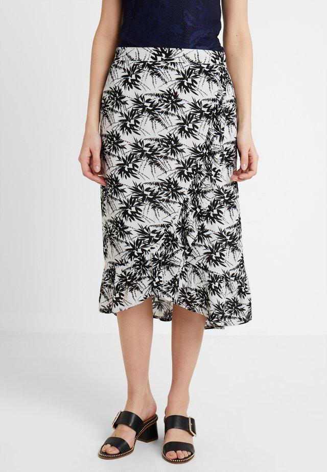 SKIRT - A-snit nederdel/ A-formede nederdele - black