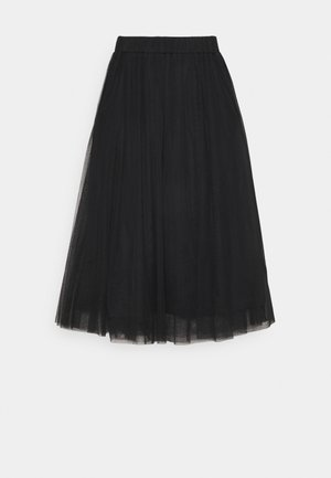 MATILDA MIDI SKIRT - A-Linien-Rock - black