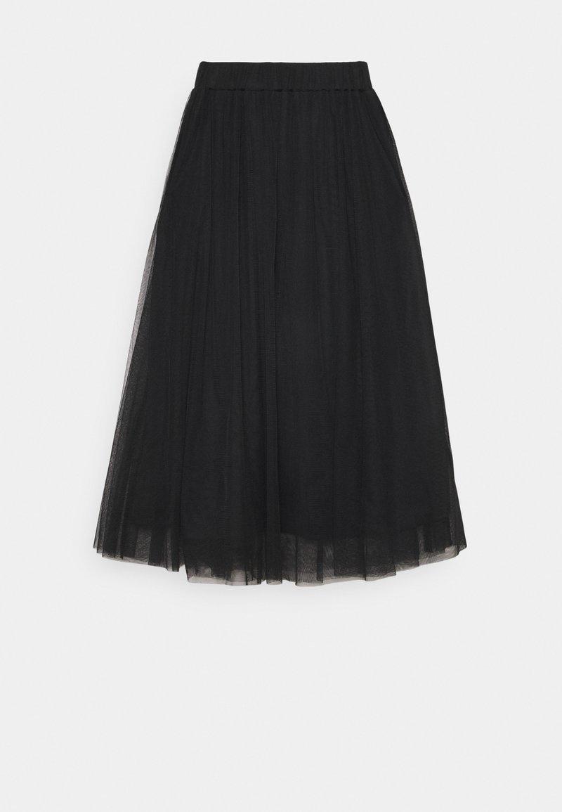 Gina Tricot - MATILDA MIDI SKIRT - A-line skirt - black