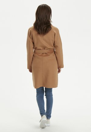 Short coat - tobacco brown