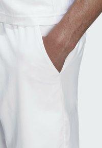 adidas Performance - ERGO SHORT - Sportovní kraťasy - white / scarlet - 5