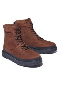 Timberland - RAY CITY  - Platform ankle boots - soil - 1