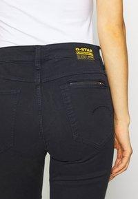 G-Star - 4311 MOTO HIGH STRAIGHT WMN - Straight leg jeans - mazarine blue - 5