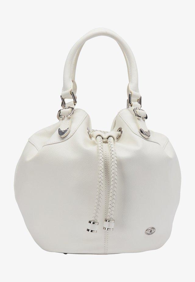 Handväska - wollweiss