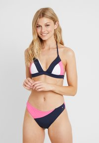 Tommy Hilfiger - TOMMY ARCHIVE TRIANGLE - Bikini top - shocking pink - 1