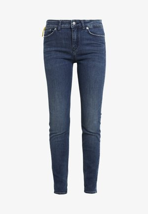 NEED - Skinny-Farkut - dark blue denim