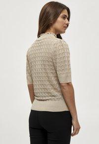 Minus - BECCA TEE - T-shirt print - sand - 1