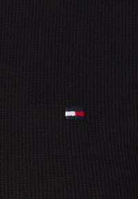 Tommy Hilfiger - SKINNY ROLL - Long sleeved top - black - 2