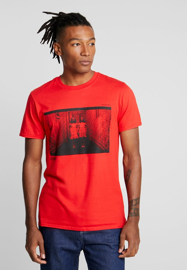 THE SHINING TEE - T-shirt imprimé - red