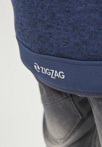 ZIGZAG - Zip-up hoodie - 2048 navy blazer - 6