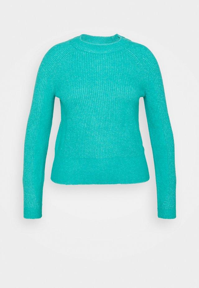 SPONGEY  - Strikkegenser - turquoise