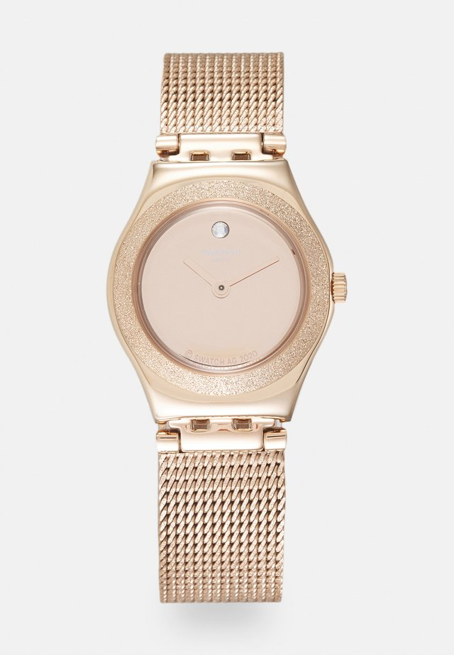 LUMINESCENT - Horloge - rosegold-coloured