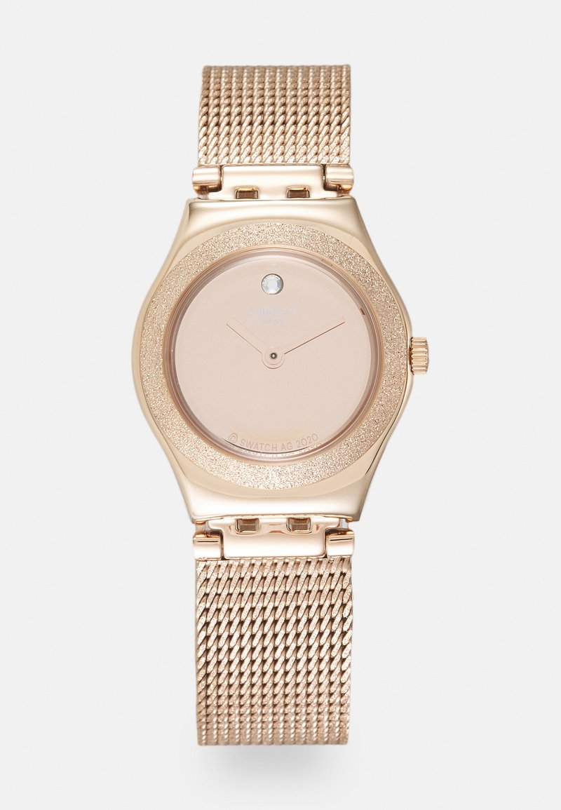 Swatch - LUMINESCENT - Hodinky - rosegold-coloured