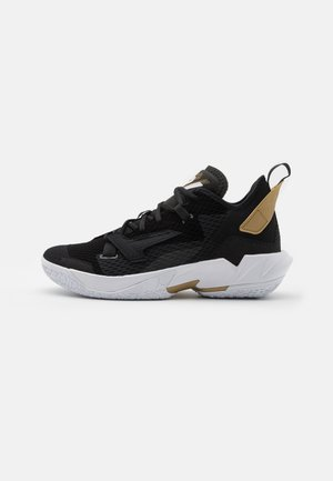 WHY NOT ZER0.4 - Basketball shoes - black/white/metallic gold
