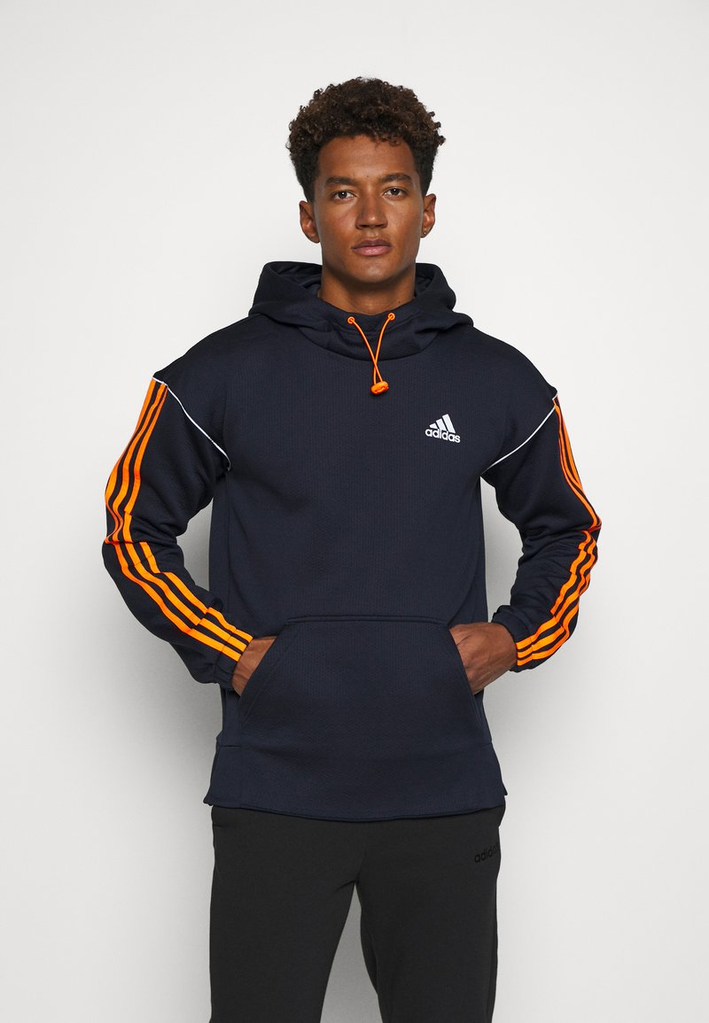adidas Performance - Hoodie - legend ink/signal orange