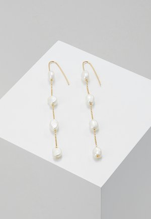 EARRINGS RAN - Pendientes - gold-coloured