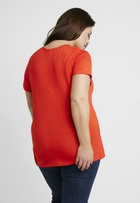 Dorothy Perkins Curve - V POCKET TEE - T-shirts - orange - 2