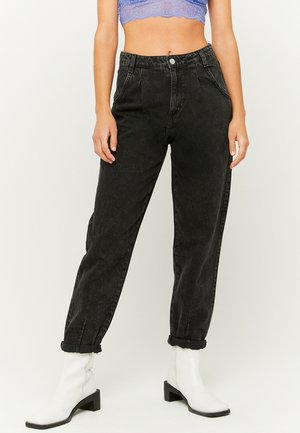 SLOUCHY - Relaxed fit jeans - blk