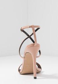 BEBO - SKITTLE - Sandaler med høye hæler - nude - 5