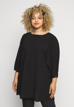 XDARLOE 3/4 TUNIC - Tunique - black