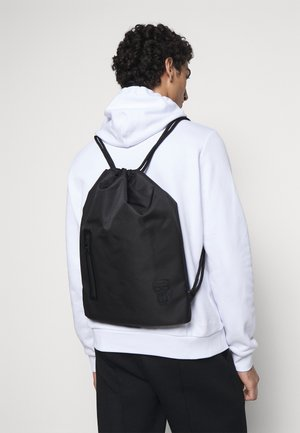 GYM BAG UNISEX - Rucksack - black