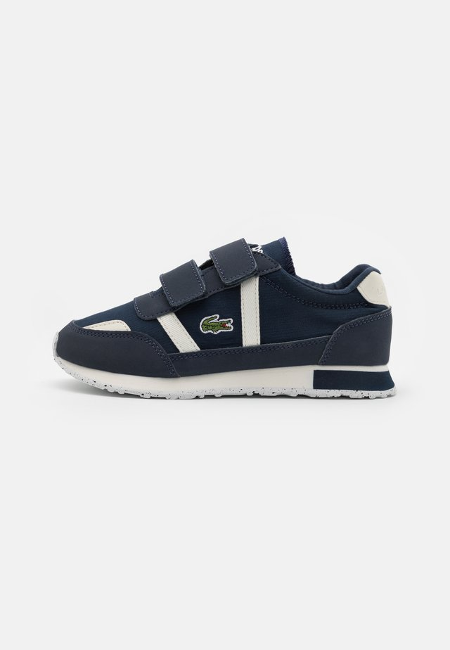 PARTNER UNISEX - Trainers - navy/offwhite