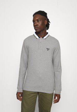 DAVIS TIPPED COLLAR - Poloshirt - grey marl