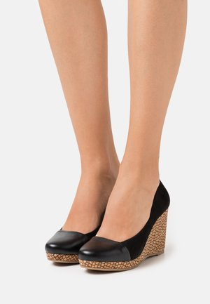CAROLINA - Zapatos altos - black