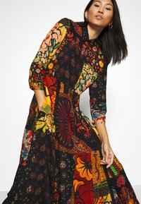Desigual - TURIN DESIGNED BY CHRISTIAN LACROIX - Maxi dress - granate oscuro - 3