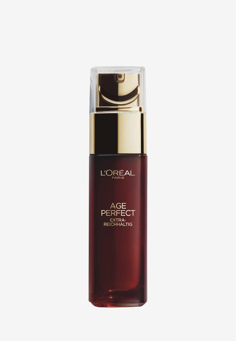 L'Oréal Paris - AGE PERFECT EXTRA-RICH MANUKA SERUM 30ML - Serum - -