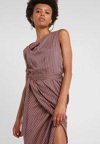 Vivienne Westwood Anglomania - VIAN DRESS - Maxi dress - aubergine - 4