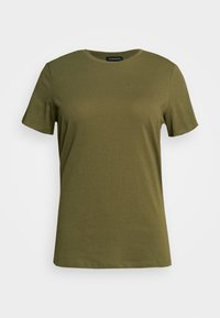 Even&Odd Curvy - Basic T-shirt - olive night - 3
