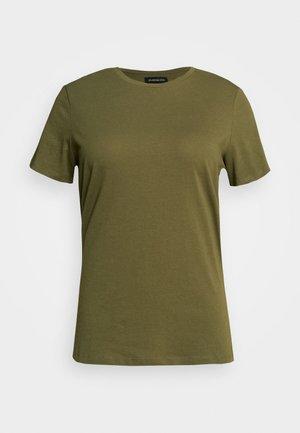 Camiseta básica - olive night