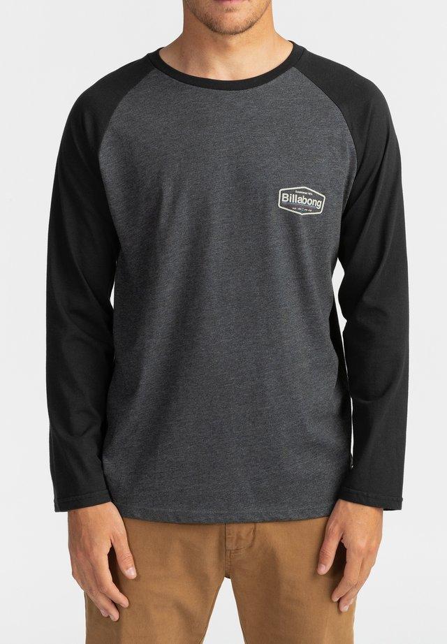MONTANA MANCHES - T-shirt imprimé - black