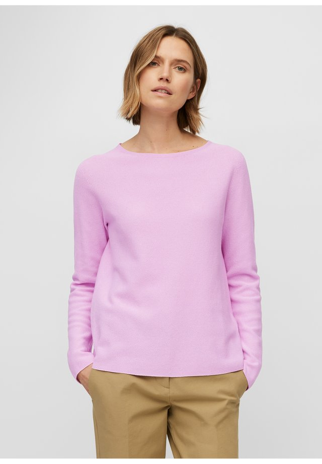 SOLID, STRUCT - Sweater - breezy lilac