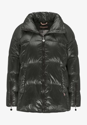 STEPPJACKE KIRA MIT HERAUSNEHMBARER KAPUZE - Down jacket - black