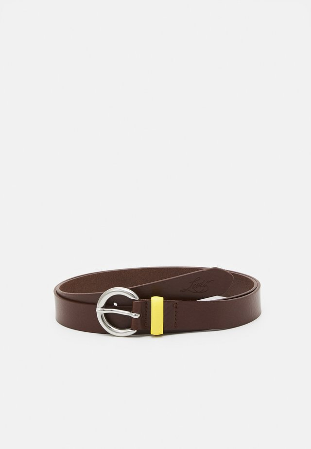 LARKSPUR  - Belt - medium brown
