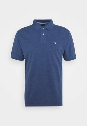 SLIM FIT LOGO - Polo - blue/sky