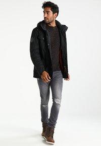 Pier One - Sweter - mottled brown - 1