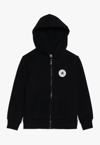 CHUCK PATCH FULL ZIP HOODIE  - Zip-up sweatshirt - black