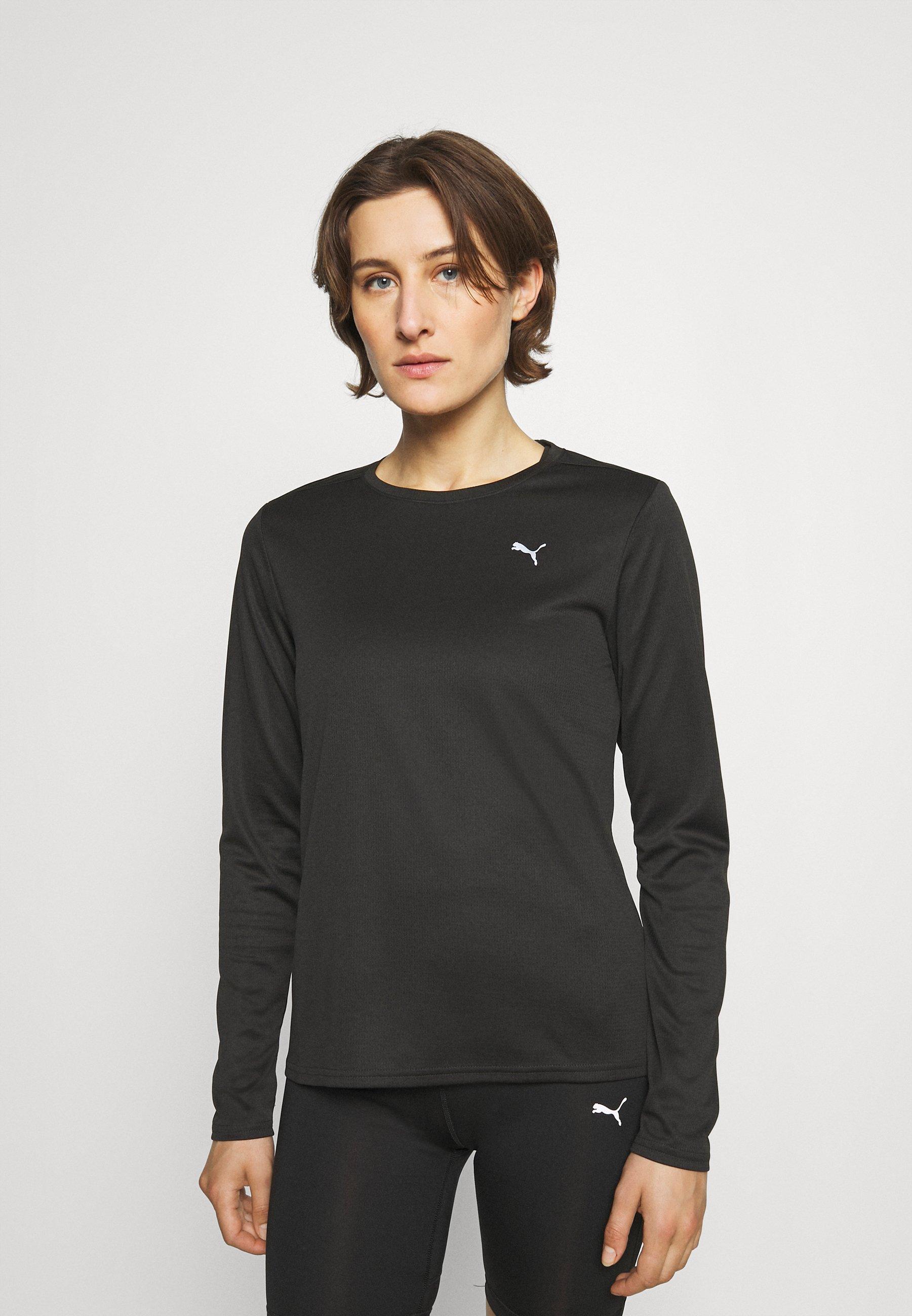 Femme RUN FAVORITE TEE - T-shirt à manches longues