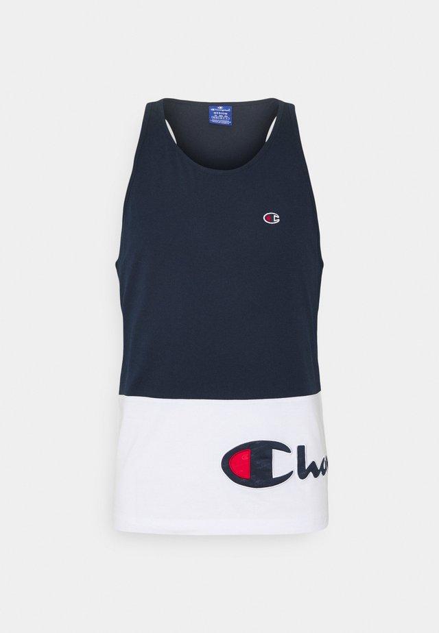TANK - Top - navy/white