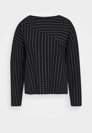 URAMI - Langærmede T-shirts - black