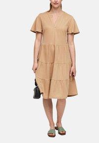 s.Oliver - Day dress - beige - 0