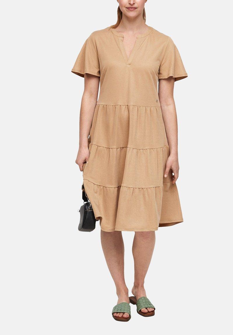 s.Oliver - Day dress - beige