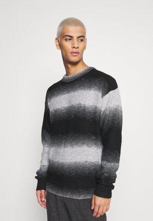 JORTOMMY CREW NECK - Jumper - black