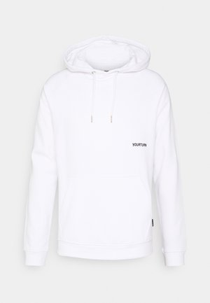 UNISEX - Sweat à capuche - white
