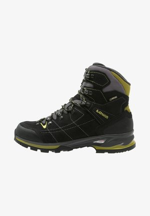 VANTAGE GTX MID - Hiking shoes - schwarz/grün