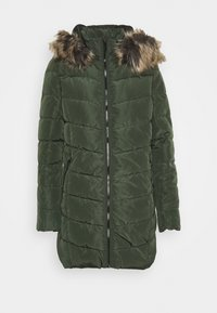 ONLY - ONLNEWMINEA QUILTED HOOD COAT - Parka - rosin - 4