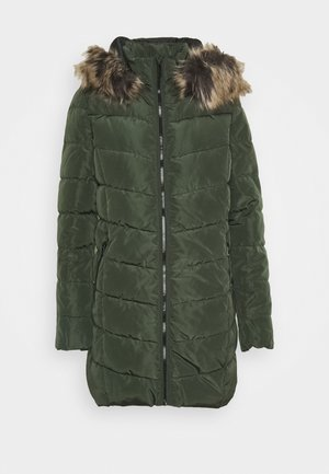 ONLNEWMINEA QUILTED HOOD COAT - Parka - rosin